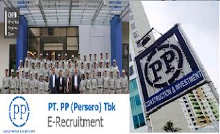 Lowongan Kerja BUMN PT PP (Persero) Tbk Januari 2017