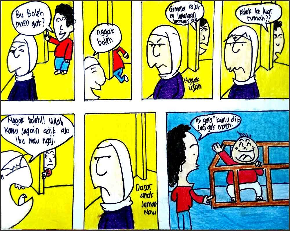 Pengertian Komik Jenis Komik Lengkap 15 Contoh Komik Lucu