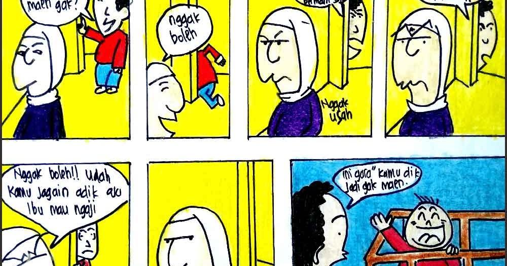 170 Contoh Gambar Ilustrasi Komik Yang Mudah Gambarilus