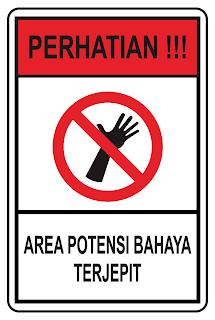Area Potensi Bahaya Terjepit