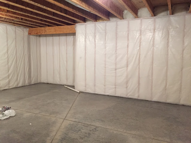 What Our Basement Looked Like Before