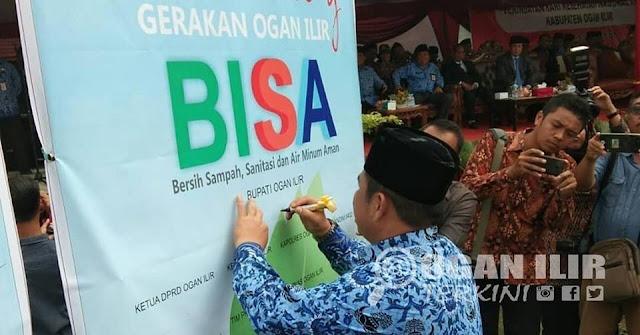 """Bupati Ogan Ilir Ilyas Panji Alam Resmikan """"Gerakan Ogan Ilir BISA"""""""