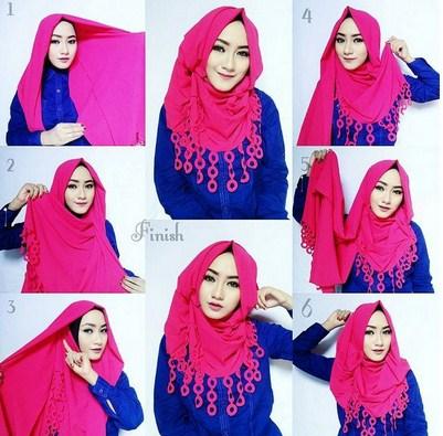 Tutorial Hijab Modern Remaja Kumpulan Tutorial Hija...