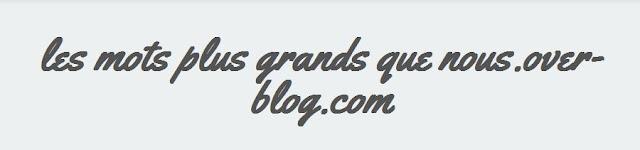 http://lesmotsplusgrandsquenous.over-blog.com/2016/03/cedric-bernard-poemes.html