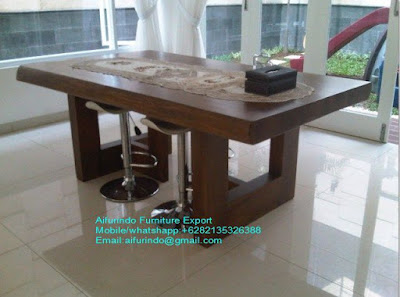 TABLE SUAR WOOD,DINING TABLE SOLID TREMBESI WOOD,SUAR TABLE,TREMBESI TABLE CODE 1 01