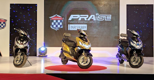 Okinawa Praise Price - Mileage, Spec, Reviews, Colours, Finance, Features
