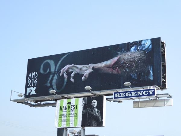 AHS season ?6 werewolf hand teaser billboard