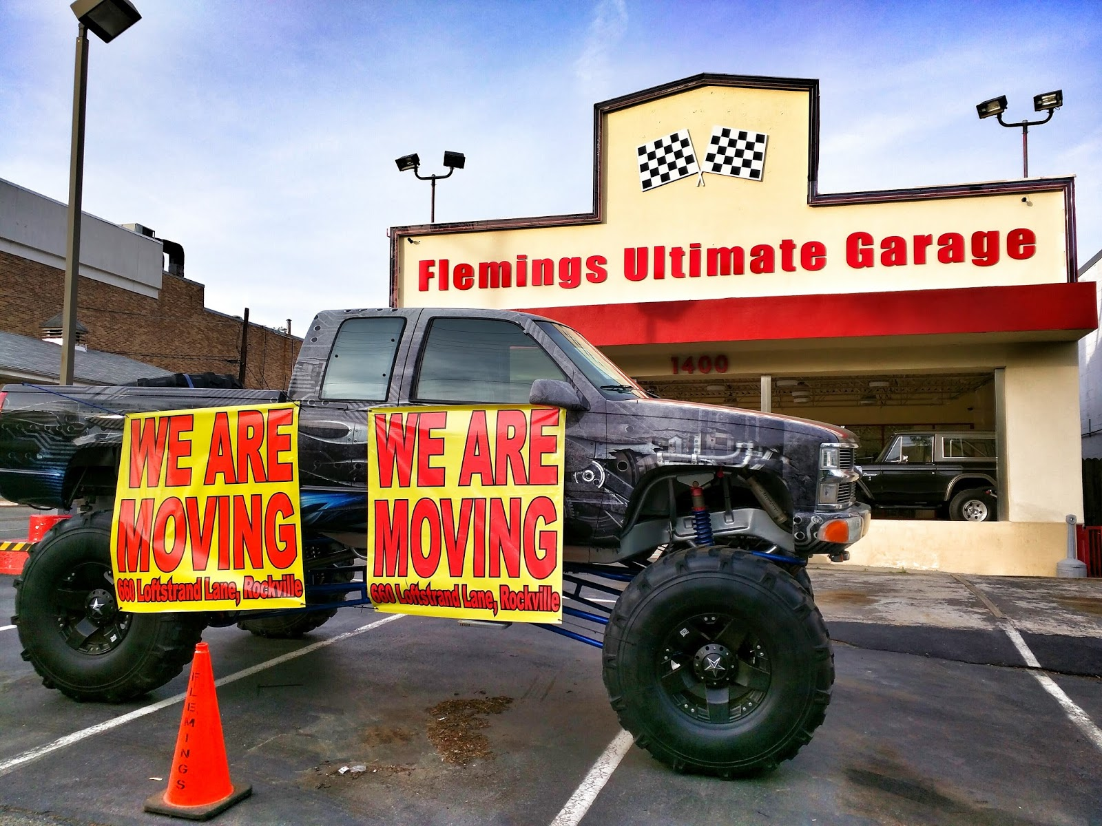 Rockville Nights: Fleming\'s Ultimate Garage making the ultimate move ...