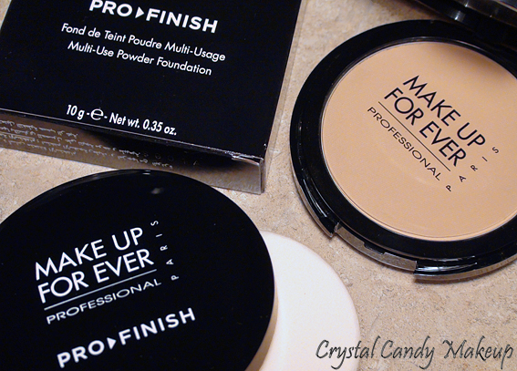 crystal candy makeup blog review and swatches fond de teint poudre pro finish de make up for ever. Black Bedroom Furniture Sets. Home Design Ideas