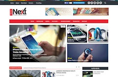 Technext Magazine Blogger Template [ Premium]