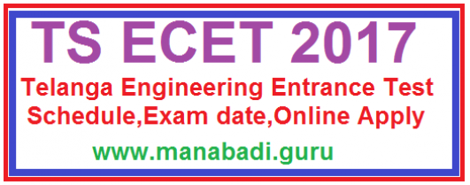 TSECET Notification,schedule,TS CETs,TS engineering admissions