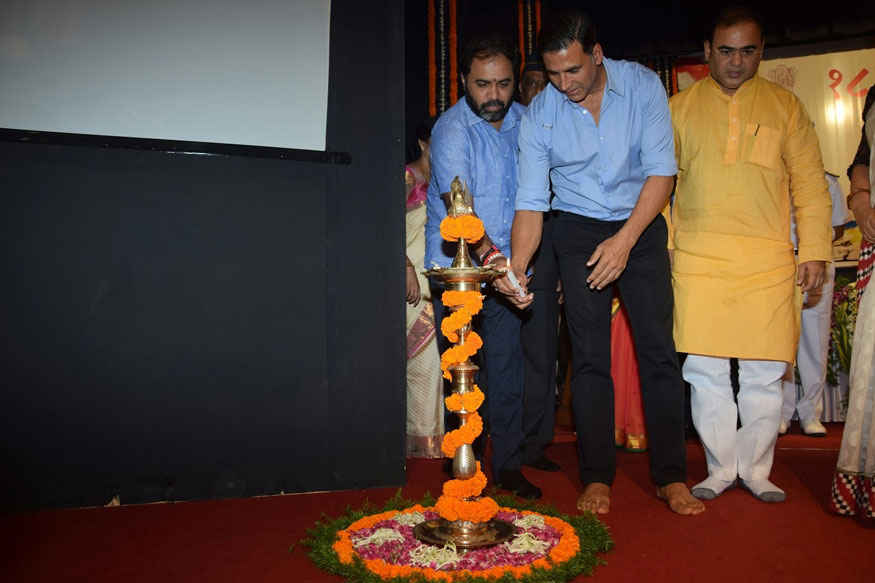 Akshay Kumar During 18th Kargil Vijay Diwas Function at Chauhan Auditorium