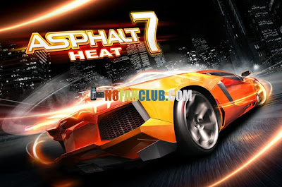 Asphalt 7 Heat HD Game for Nokia Lumia 920 & 820