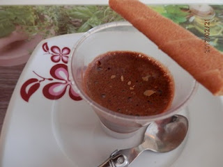 Recette mousse chocolat et carambar fondu