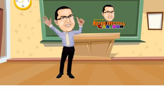 curso retrospectiva animada cartoon