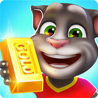 Free Download Talking Tom Gold Run Mod Apk v1.0.12.892 (Infinite Gold Bars)