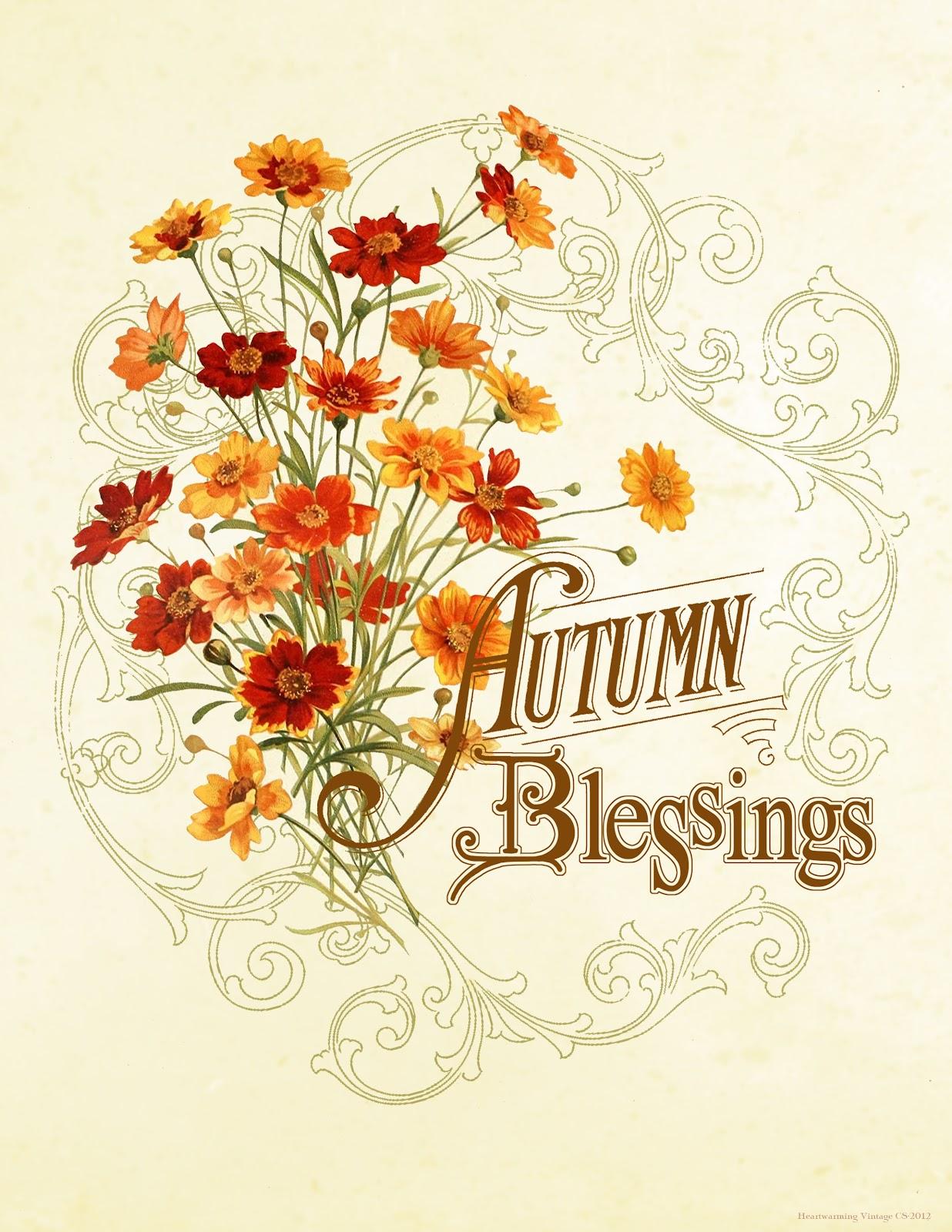 Autumn Blessings Quotes Quotesgram