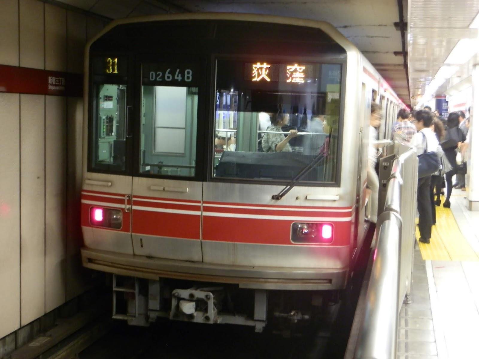 小田急沿線住み鉄道ファン日記: 【動向注意】東京地下鉄02系02-148Fが ...