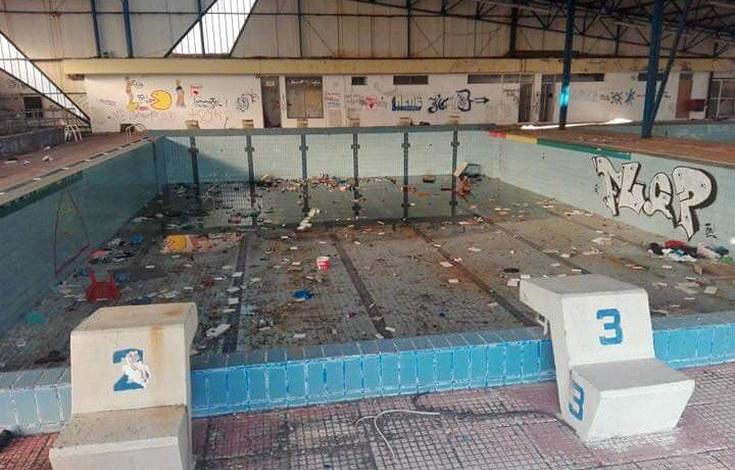 Π. Μιχαηλίδης: Η εννεαετής θητεία του κ. Λαμπάκη οδήγησε σε πλήρη εγκατάλειψη το παλιό Κολυμβητήριο