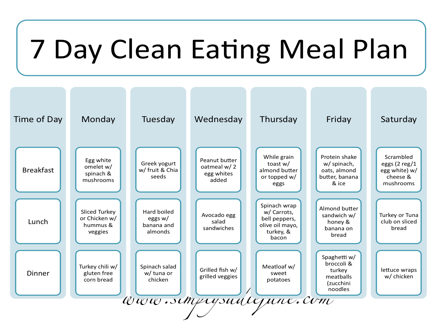 Easy Weight Loss Diet (With A Meal Plan)