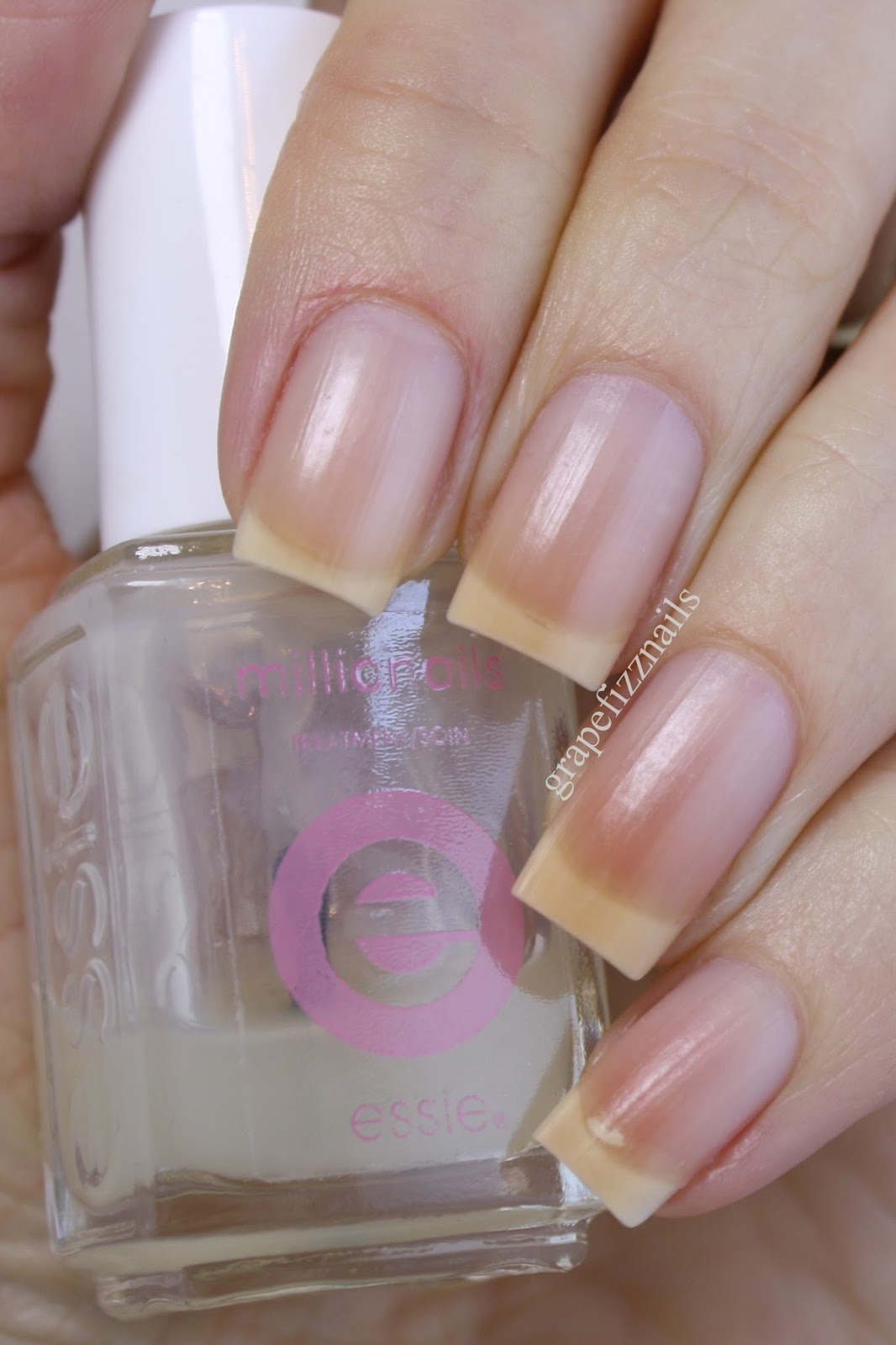 Grape Fizz Nails: My Nail Care Routine