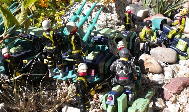 1986 Dreadnok Stinger, RAM, Motorcycle, 1989 Python Trooper, Officer, Vibora, Estrela, Brazil, Relampago, Gatilho, Ripcord, Airborne