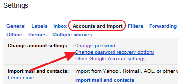 How To Add or Change Security Question in Gmail Account