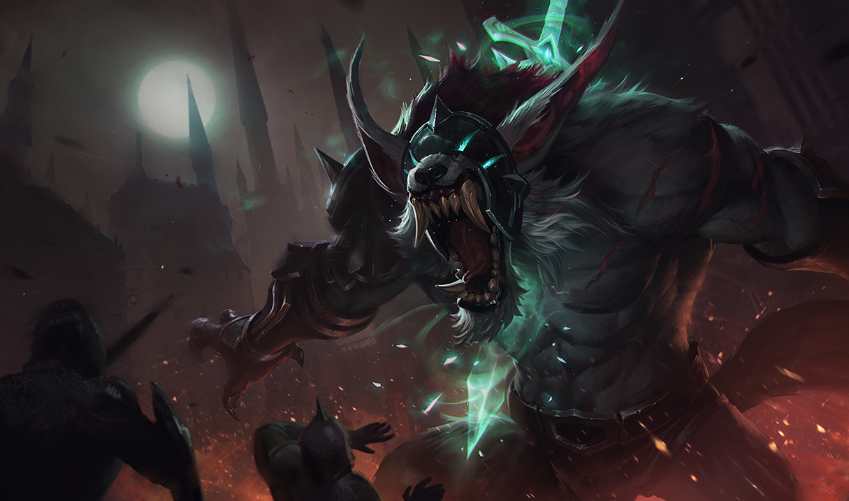 So About The Grey Warwick Skin