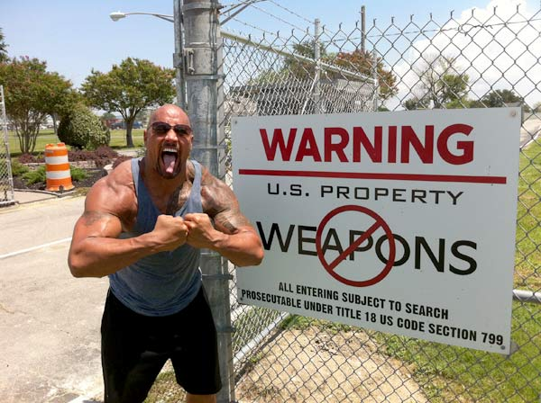 the rock abusing steroids