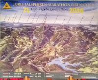 21. Drei Talsperren Marathon 2016 Eibenstock Erzgebirge Karte