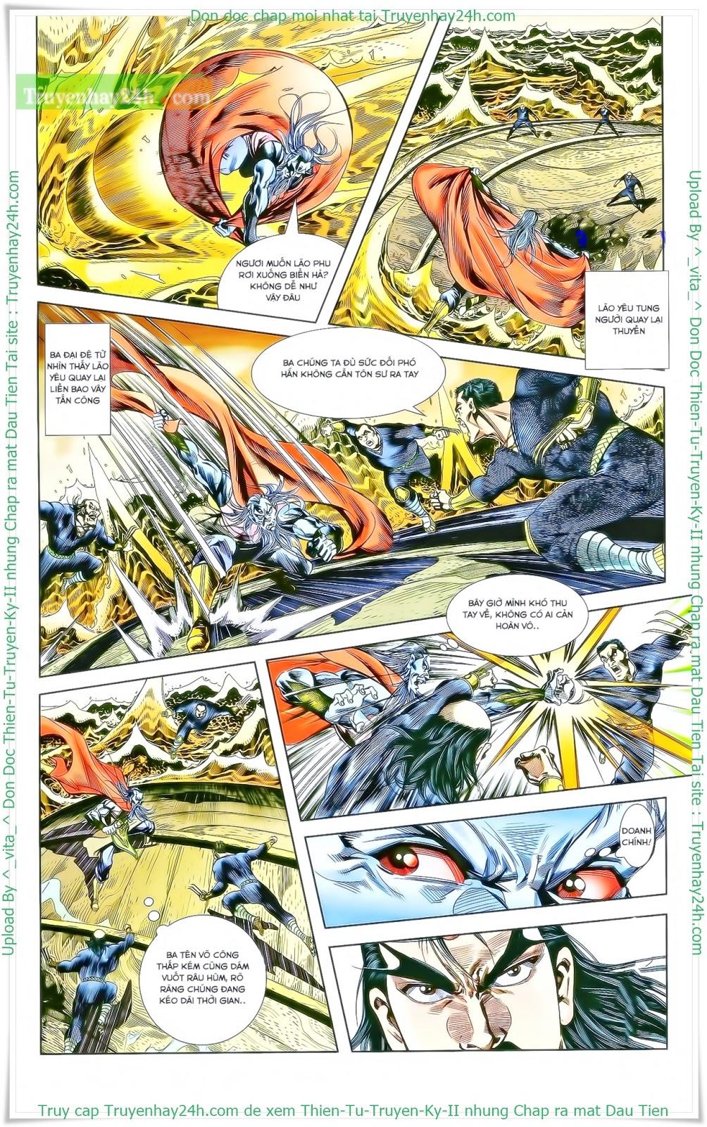 Tần Vương Doanh Chính chapter 27 trang 21