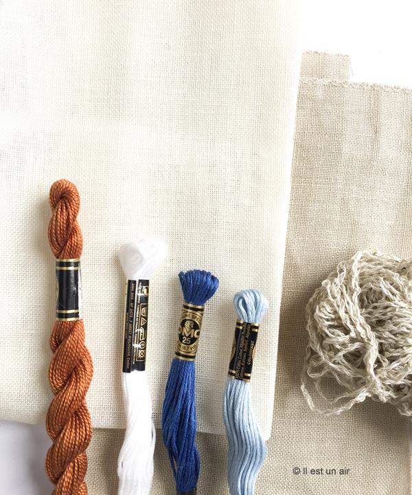 fils moulinés et perlés