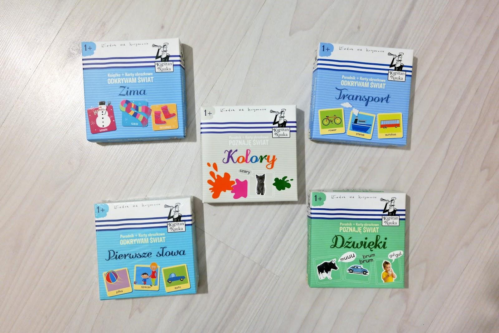 karty do nauki pierwszych słów