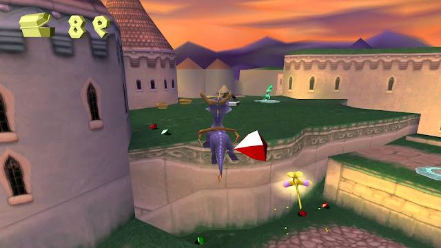 Spyro: El año del dragón - PSX - Captura 3