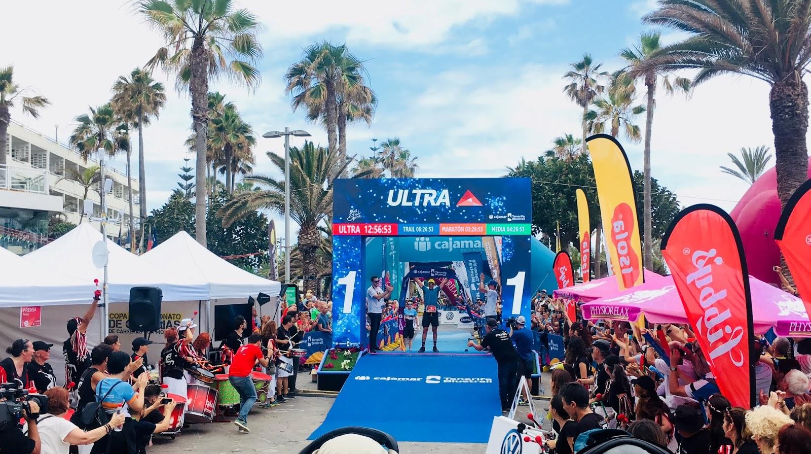Cajamar Bluetrail Tenerife Teneriffa Ultra Winner Yeray Duran Lopez