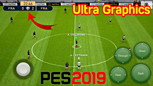 Download PES 2019 Mobile Beta Official Ultra Graphics Apk+Obb (Android/IOS)