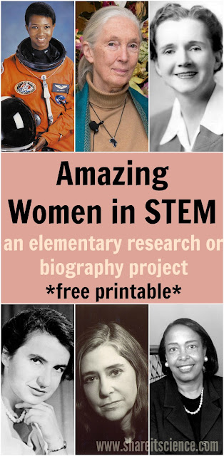 Amazing Women in STEM research project