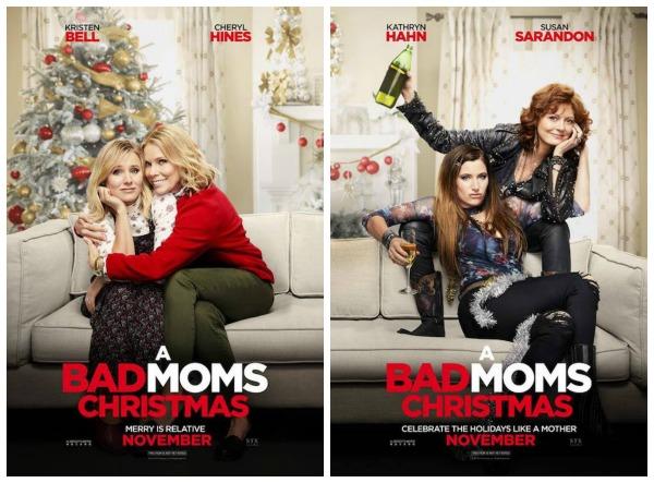 Bad Moms Christmas Susan Sarandon.Tokin Woman 2017