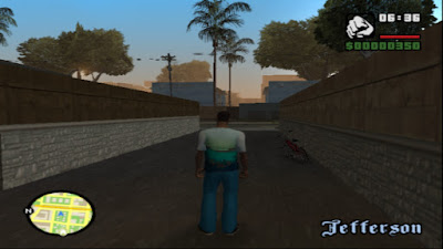 gta sa san mod ps2 playstation 2 cleangfx pc graphics gráficos