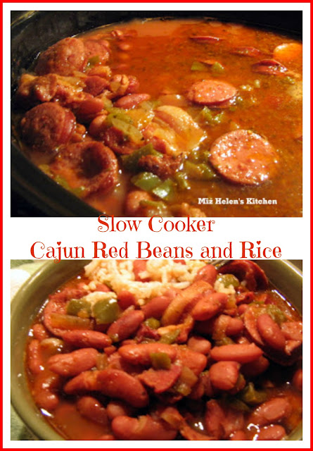 Slow Cooker Cajun Red Beans and Rice at Miz Helen's Country Cottage
