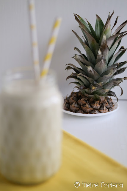 Ananas-Kokos-Smoothie