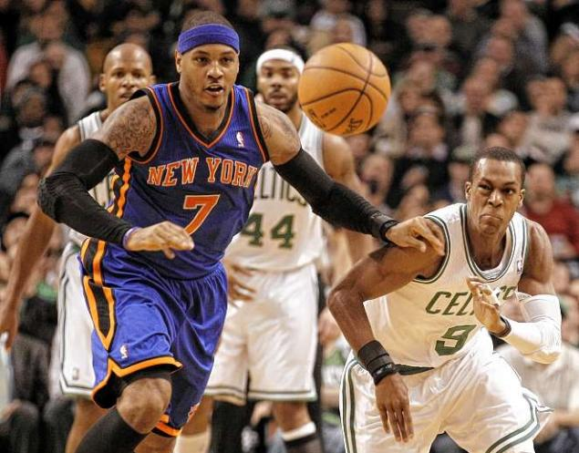 6ee11be3c43c Report  Carmelo Anthony wanted Knicks to trade for Rajon Rondo earlier this  summer