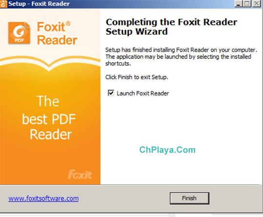 Hướng dẫn cài đặt Foxit Reader trên PC g
