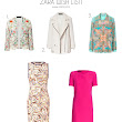 Fashion Files : Zara Wish List!