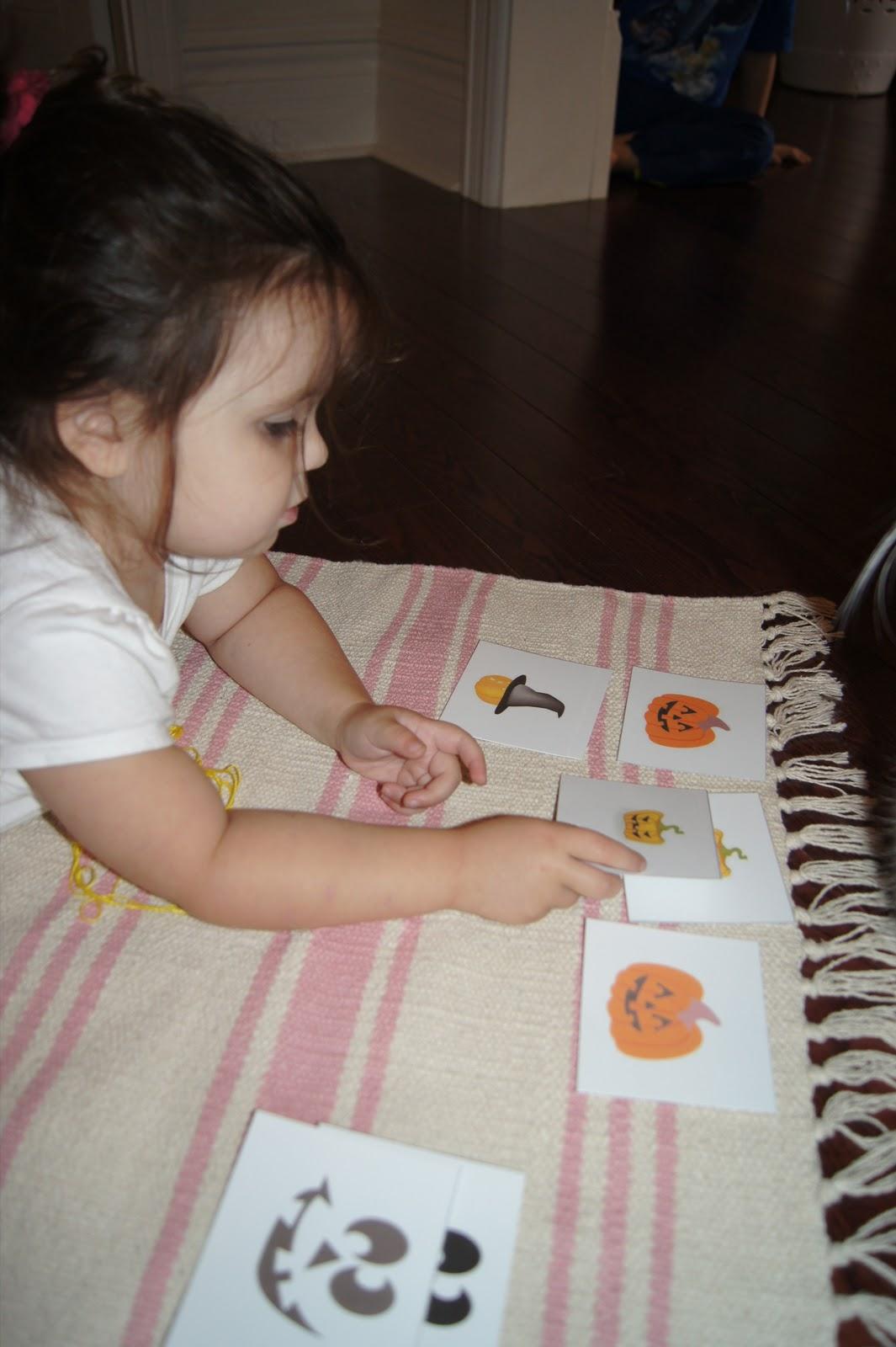 Halloween Memory Match Activity Halloween Activities At