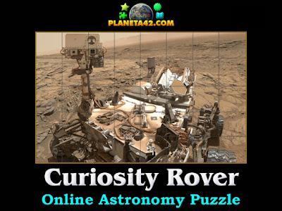 Curiosity Mars rover Puzzle