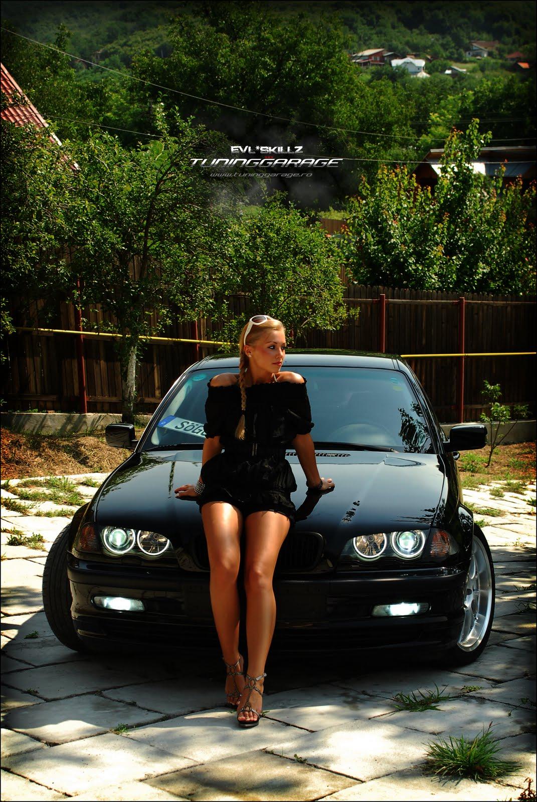 Auto Car Pass: Hot girl car BMW #14