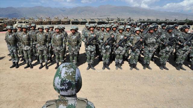China refuerza defensa ante posible guerra EEUU-Corea del Norte
