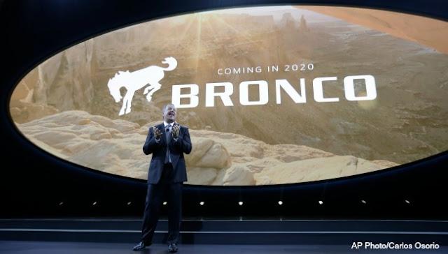 Es oficial: ¡Ford Bronco regresa en 2020!