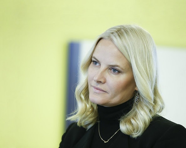 Crown Princess Mette-Marit attend the United Nations Development Program - UNDP